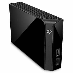 "Накопитель внешний HDD 3.5"" USB 8.0TB Seagate Backup Plus Hub Black (STEL8000200), фото 2"
