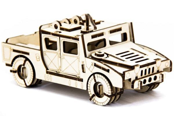 Конструктор автомобиль Хаммер (Hummer) H-1 74 детали