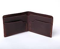 Кожаный кошелек Gomin мужской Коричневый
