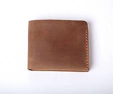 Шкіряний гаманець «Gomin Olive» жіночий Оливковий (10,5x8,5 см) ручної роботи, фото 3