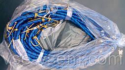 Гумка для кравчучки з двома гачками, довжина 1 м, 1,5 м, 2 м.