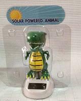 Сувенир танцующий динозавр на солнечной батарее