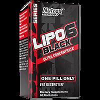 Жиросжигатель Nutrex Lipo-6 Black Ultra Concentrate (60 капсул)