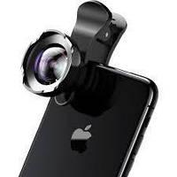 Комплект обьектив для смартфона Baseus short videos magic camera (Hi-definition) Black