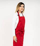 Фартук Latte Удлиненный Червоний, фото 10
