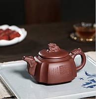 """Чайник """"Сы Фан"""" (""""Четыре стороны света""""), глина Цзи Ни, мастер У Веньцай, 300 мл"""