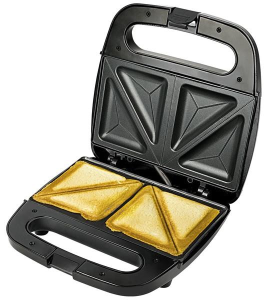 Бутербродниця електрична VITEK VT-7147 4 сендвічі 750 Вт Сірий/ Чорний