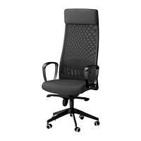 MARKUS Рабочий стул, Висле темно-серый