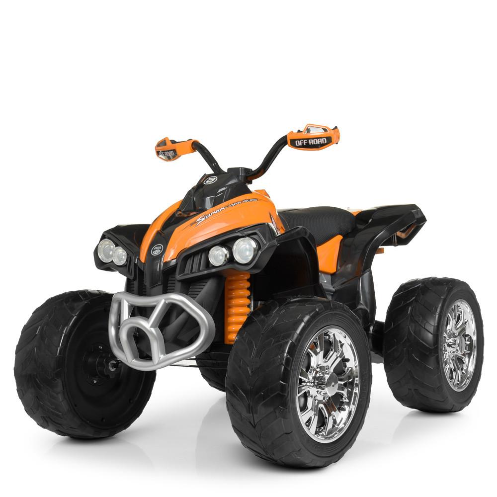 Електромобіль Квадроцикл M 4200EBLR-7 помаранчевий BAMBI