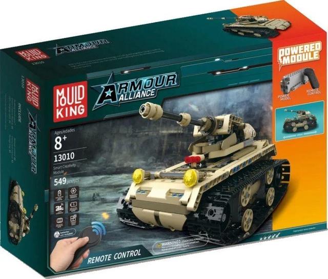 Конструктор Технік Військовий Танк 13010, 549 деталей