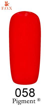 Гель-лак F.O.X Pigment 058, 6мл