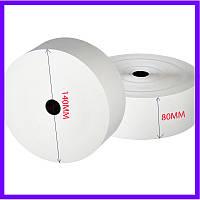 Термобумага 140х80 мм / термолента / чековая бумага / термопапір / кассова, чекова стрічка/