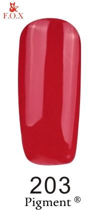 Гель-лак F.O.X Pigment 203, 6мл