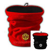 Бафф (Горловик) в стиле Манчестер Юнайтед красно / чёрный