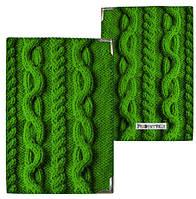 Обложка на паспорт Вязка свитера (PD_15NGETN009_ZE)