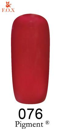 Гель-лак F.O.X Pigment 076, 6мл