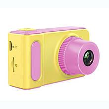 Детская камера- фотоапарат Kids Camera Smart Pink