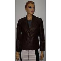 Куртка кожаная женская