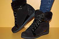 Детские демисезонные ботинки Bistfor Украина 78413 для девочек черные размеры 31_35, фото 1
