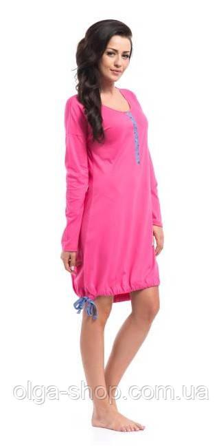 Сорочка, ночная рубашка женская хлопковая Dobra Nocka 8027