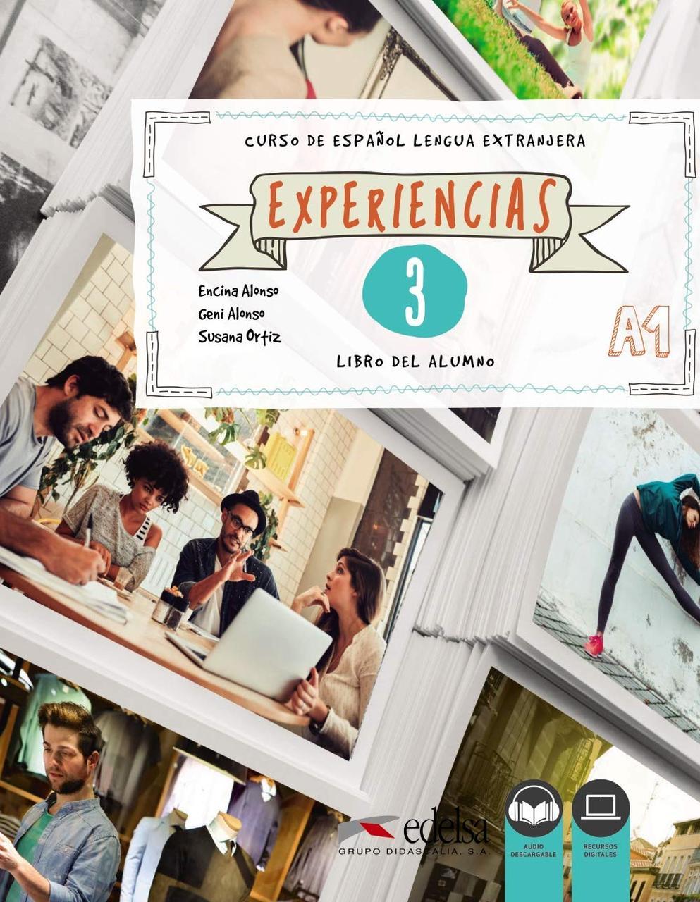 Experiencias. Libro del alumno 3 (A1)