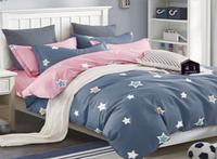 """Комплект постельного белья  семейный размер Сатин  """"Зарница"""""""