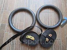 Кольца гимнастические для Кроссфита C-3390, фото 2