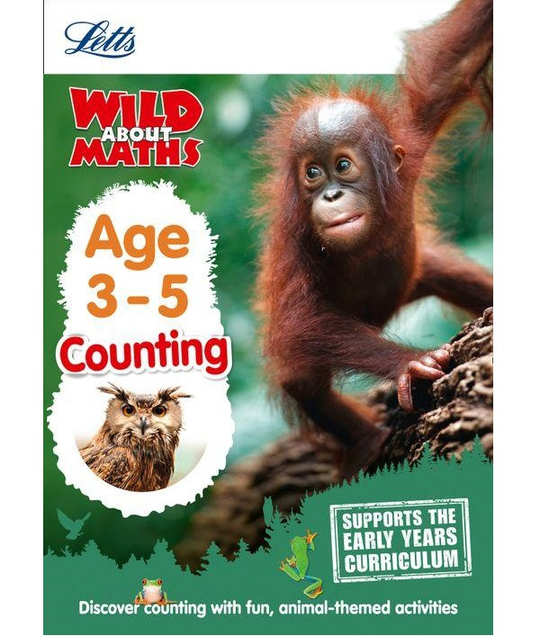 Letts Wild About Maths: Counting Age 3-5