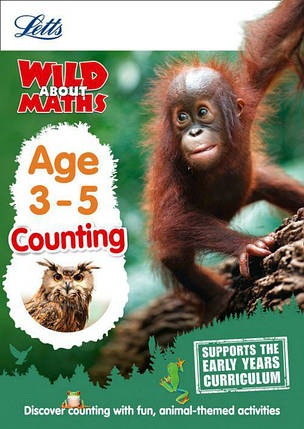 Letts Wild About Maths: Counting Age 3-5, фото 2
