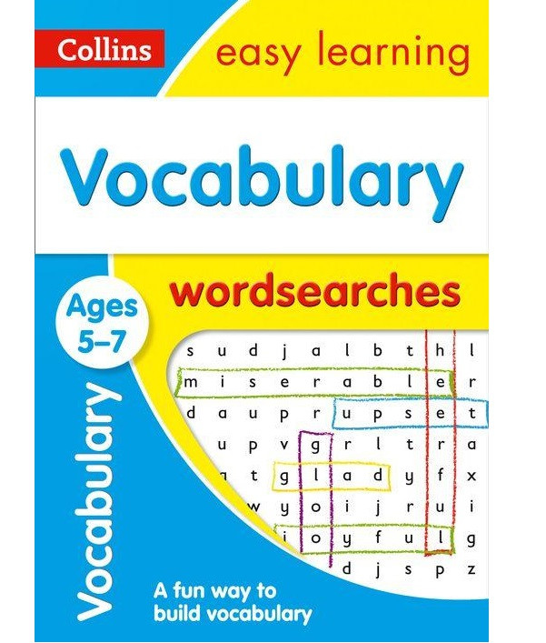 Collins Easy Learning: Vocabulary Word Searches Ages 5-7