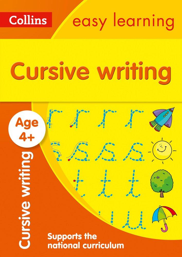 Collins Easy Learning Preschool: Cursive Writing Ages 4-5