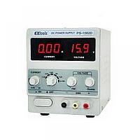 Лабораторный блок питания PS-1502D, 15B, 2A, EXtools, фото 1