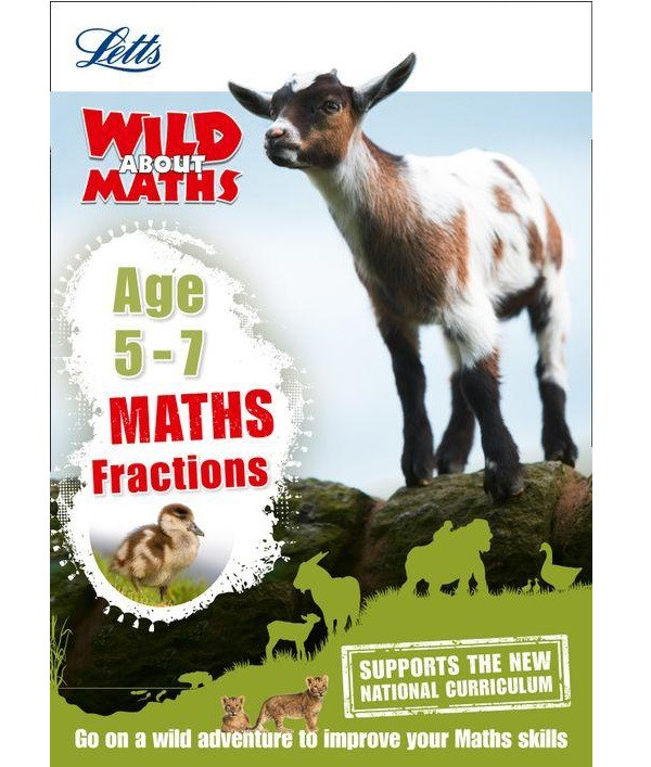 Letts Wild About Maths: Fractions Age 5-7