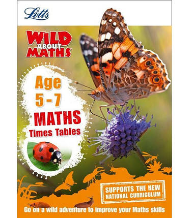 Letts Wild About Maths: Times Tables Age 5-7, фото 2