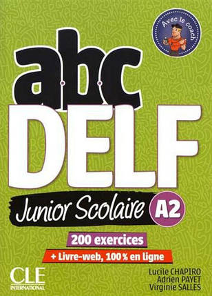 ABC DELF Junior: Livre de l'eleve A2 + DVD + Livre-web - 2eme edition, фото 2