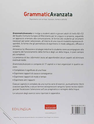 Grammatica Avanzata. Libro B2+/C2, фото 2