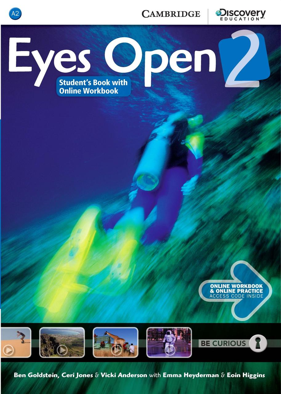 Eyes Open Level 2. Student's Book with Online Workbook