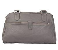 Дорожная сумка серого цвета 30411, фото 1