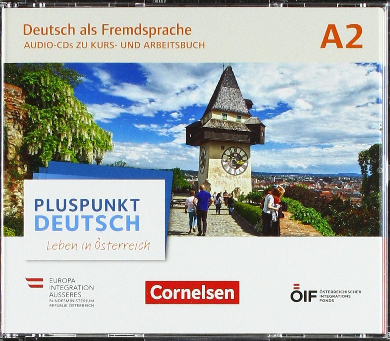 Pluspunkt Deutsch. Leben in Österreich A2. Audio-CDs wav-Format zu Kurs- und Arbeitsbuch