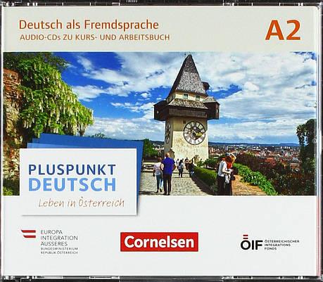 Pluspunkt Deutsch. Leben in Österreich A2. Audio-CDs wav-Format zu Kurs- und Arbeitsbuch, фото 2