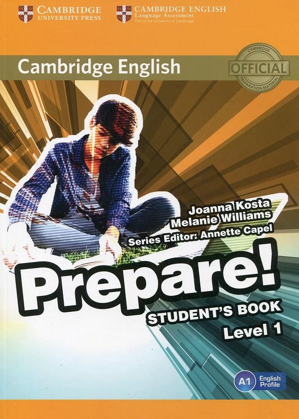 Cambridge English Prepare! Level 1 Student's Book and Online Workbook including Companion for Ukraine