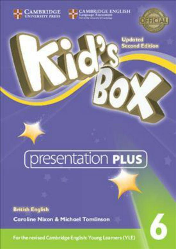 Kid's Box Updated Second edition 6 Presentation Plus DVD-ROM