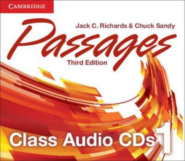 Passages 3rd Edition 1 Class Audio CDs (3)