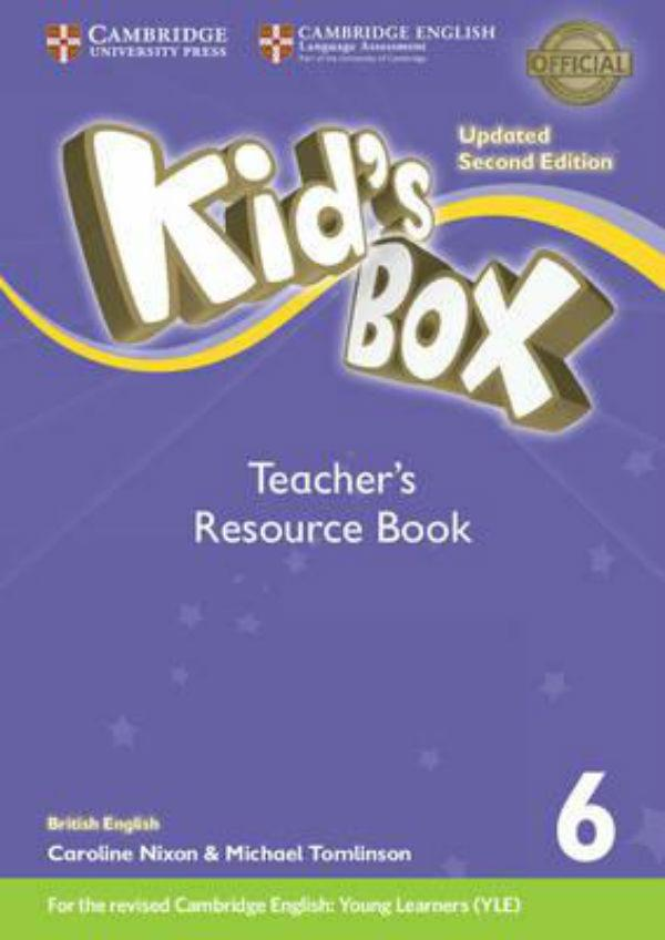 Kid's Box Level 6 Teacher's Resource Book with Online Audio British English