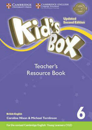 Kid's Box Level 6 Teacher's Resource Book with Online Audio British English, фото 2