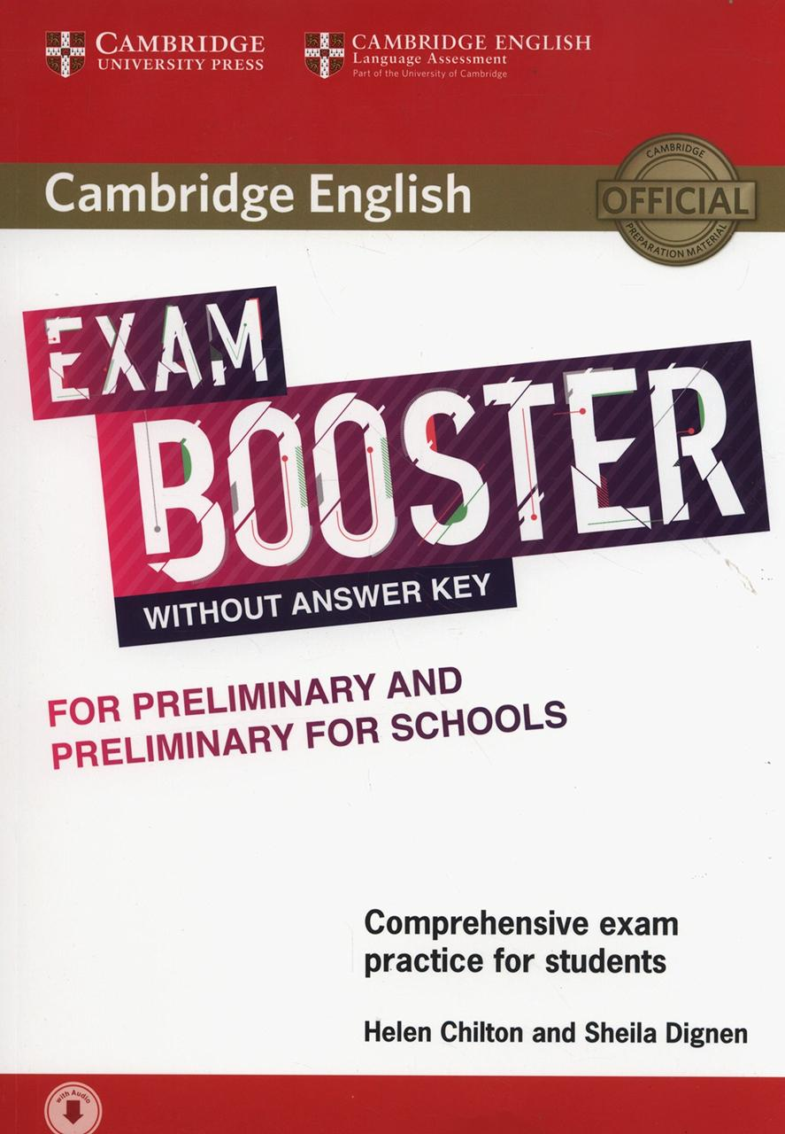 Exam Booster for Preliminary and Preliminary for Schools without Answer Key with Audio