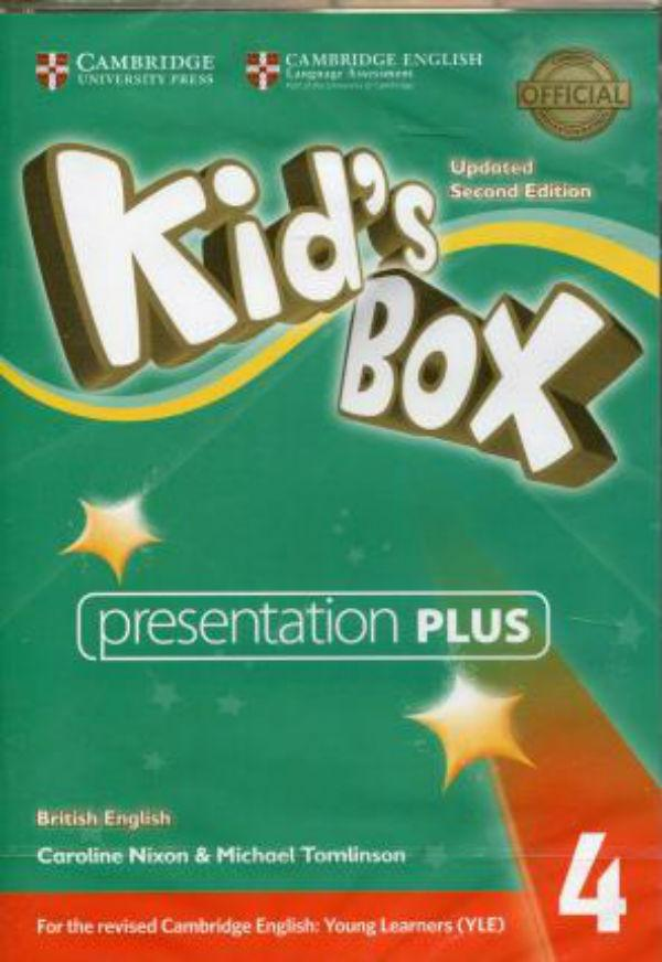 Kid's Box Updated Second edition 4 Presentation Plus DVD-ROM