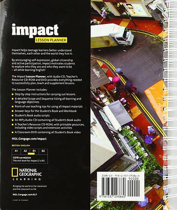 Impact 2 Lesson Planner + Audio CD + TRCD + DVD, фото 2