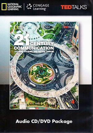21st Century Communication: Listening, Speaking and Critical Thinking 4 Audio & Video DVD, фото 2