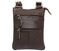 Мужская сумка из натуральной кожи через плечо 300132, фото 1